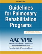 Guidelines for Pulmonary Rehabilitation Programs